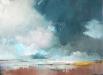 Schilderij-dreigende-lucht-boven-Wad-80x60cm