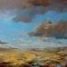Wadden-vanaf-de-dijk-bij-Hornhuizen-schilderij-100x100cm