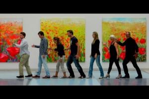Familie Schuil bezoekt expositie UMCG