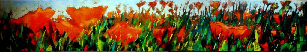 Eerste boeket veldbloemen 2013