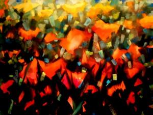 Mooiste schilderij veldbloemen.