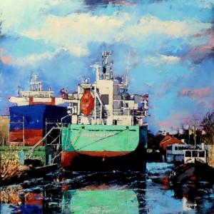 Schilderijen 2014 Gerald Schuil