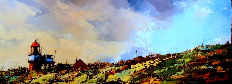 Schilderijen zomer 2013 Vlieland van Gerald Schuil.