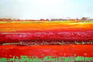 Gerald Schuil is op 8 mei 2014 gestart met een serie schilderijen geïnspireerd op het gedicht van Hendrik Marsman.