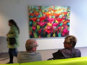 Expositie Gerald Schuil in het TweeSteden Ziekenhuis in Tilburg.