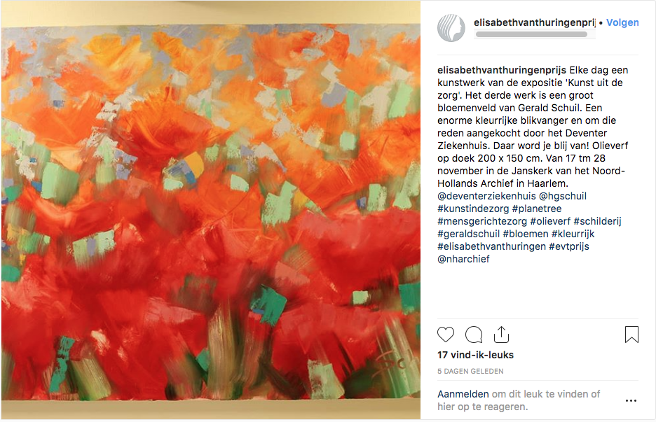 Gerald Schuil – kunst uit de zorg