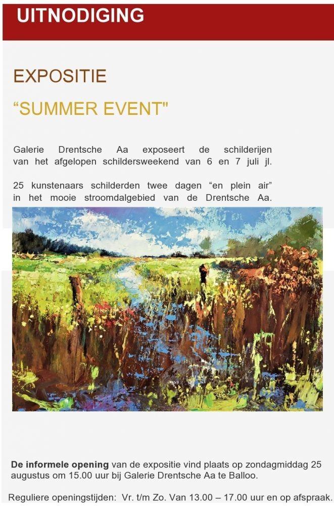 expositie Gerald Schuil Drentscha Aa